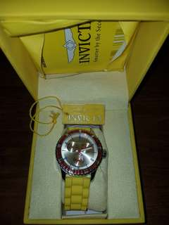 Invicta Women's Wildflower -Yellow Watch