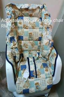 Adjustable Rocking Baby Chair.