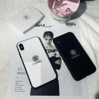 Chanel Tempered Glass Case Iphone & Oppo