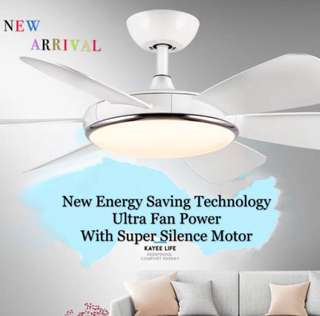 🚚 TOP Selling - KAYEE 2018 52Inch Ceiling Fan Energy Saving With Super Silence Motor