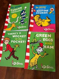 🚚 Dr Seuss Books
