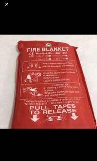 Fire Blanket 1.2mx1.8m Glass Fiber extinguisher