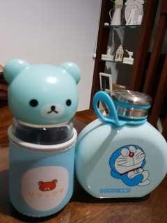 Botol air kaca sepasang