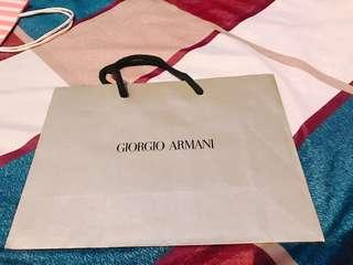🚚 Giorgio Armani 紙袋