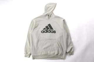 Distressed Adidas Hoodie