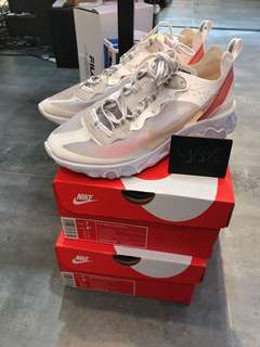 Nike React Element 87 white us7/eur40/25cm