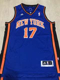 Jeremy Lin NBA jersey New York Adidas L