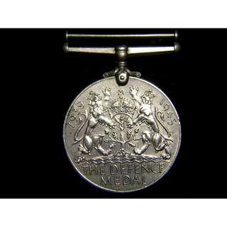 1945年大英帝國防衛勳章(英獅及英皇佐治六世像)