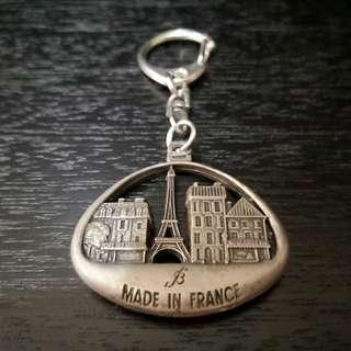 Vintage France key ring