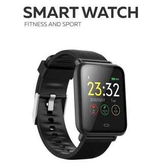 最新 智能手錶 來電 Whatsapp Wechat FB IG 訊息提醒 血壓心跳血氧監察 遙控拍照 Bluetooth Smart Watch IP67