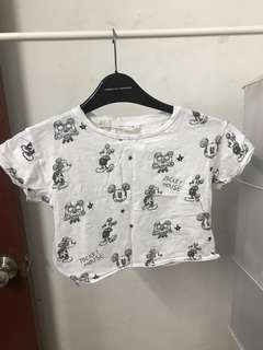Mango Mickey Mouse Top