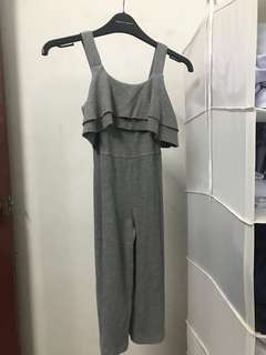 Grey Jumpsuit by Zara Kids