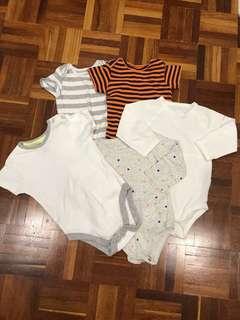 5pcs baby's wear 6-9mths