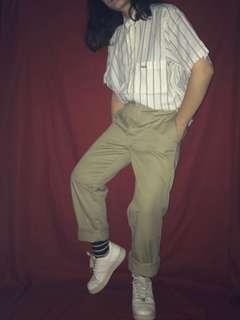 🚚 FILA  夏日清涼系列 藍黃鑲間清涼條紋 起司史丹CheeseStan