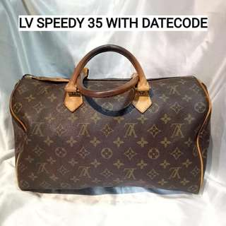 LV speedy 35 with datecode