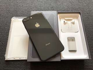 Iphone 8 Plus 64gb Factory Unlocked Space Gray Smooth As New Complete