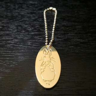 Peter rabbit keychain
