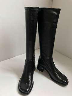 Tall black boots from Franco Sarto size 38