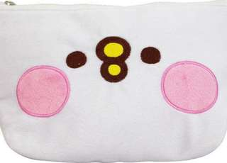 KSB21141b-卡娜赫拉的小動物-大三角筆袋-P助 Pencil bag for wonmen OL kids girls