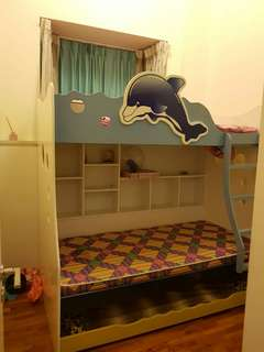 Double Decker Children Bed
