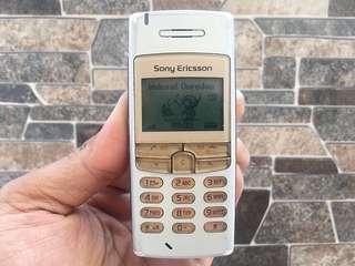 Sony Ericsson T100 Normal Hp Jadul Langka Klasik Antik Handphone Nostalgia