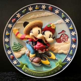 Disney Mikey and minie decor plate