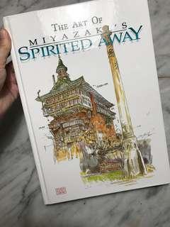 Spirited away animation and illustration