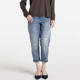 Uniqlo women boyfriend jeans