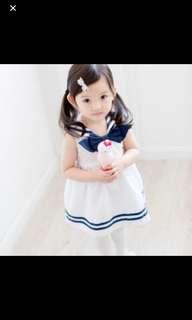 Clearence girl sailor dress