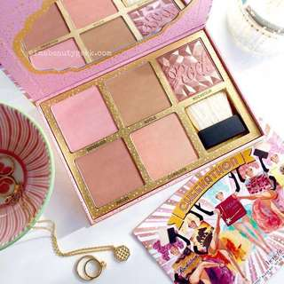 🚚 Benefit Cheekathon Bronzer Highlight Blusher Contouring Palette