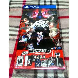 SEALED - Persona 5 Take Your Heart Premium Edition