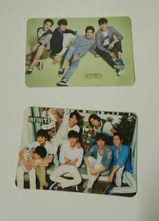 cnblue infinite yescard
