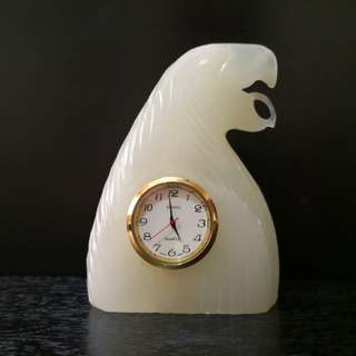 Casio marble eagle table clock