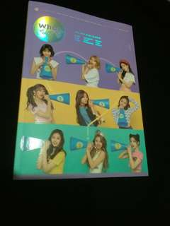 Twice what is love 淨專(內無cd)