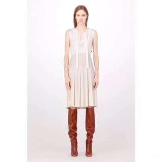 LV羊毛混紡無袖洋裝