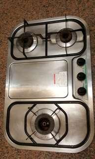 不鏽鋼 天然氣瓦斯爐 嵌入式 可以議價