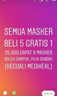 masker harian daily mask ready murah