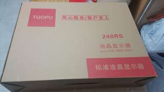 "TUOPU 24""LED MONITOR""全新"""