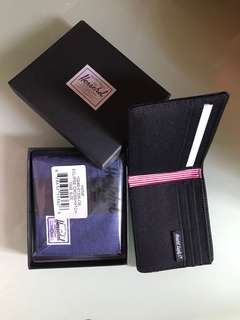 Herschel Wallet深麻藍全卡位$209