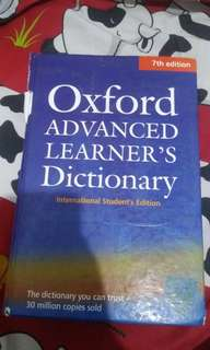 Kamus Oxford 7th Edition Hard Cover