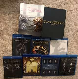 (30Disc)(BEST VERSION) Game of Thrones Season 1-7 Blu-ray