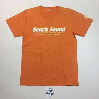 Vintage Beach Sound Graphic Tee