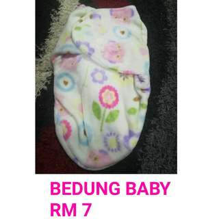 Bedung baby pre loved