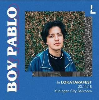 Lokatarafest - Boy Pablo