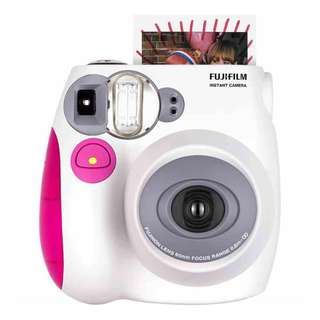 Fujifilm Pink Instax Mini 7s Polaroid Camera