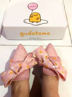 Ittaherl Gudetama Marshmallow Limited Edition!! Pink size 38