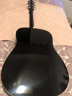 Ibanez Black Guitar