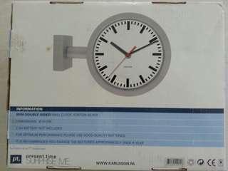 Clock designer 2 face.