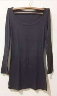 Grey longsleeve shirt