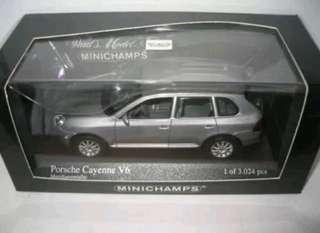 MINICHAMPS 2003 PORSCHE CAYENNE V6 METALLIC GREY
